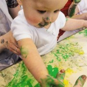 8 ways to enjoy messy play at home