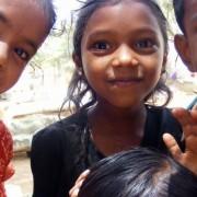 3 smiling kids