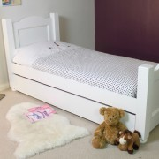Image of a nice kids bed in a neat room