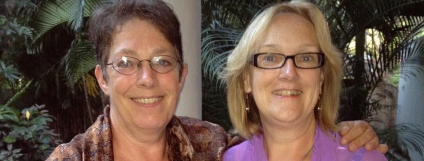 Helle & Sonja –Sisters reunited after 40 years.